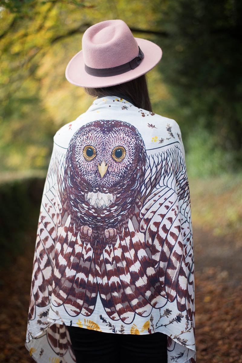 Shovava Boho Owl Scarf