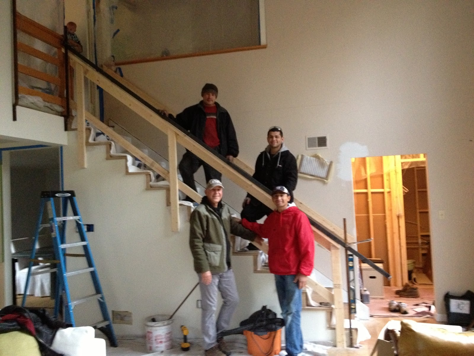 Pure Style Home Our Stair Rail Is In | Stairs Style For Home | Creative | Inside | Spiral | Country Cottage | Living Room