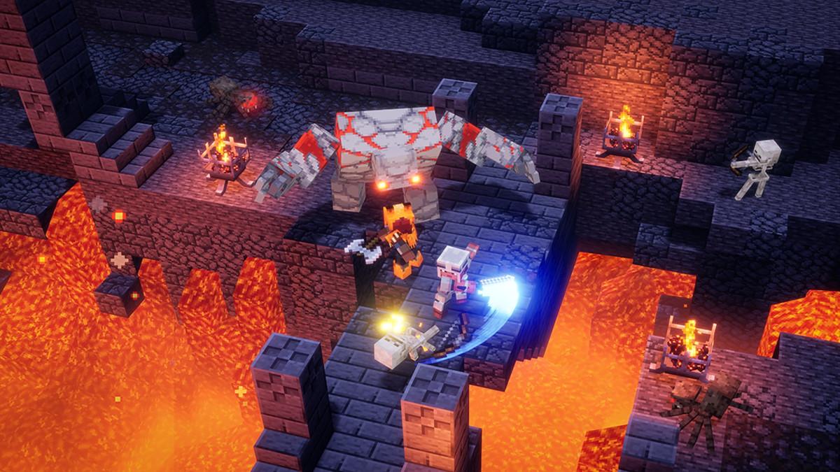 Nuovo Minecraft Dungeons disponibile su PC Windows e Console