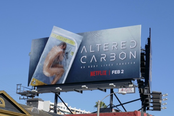 Altered Carbon season 1 billboard