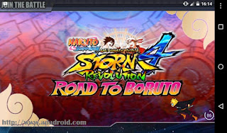 Naruto Senki NSUNS4RS RTB Version Apk