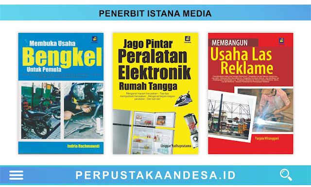 Daftar Judul Buku-Buku Penerbit Istana Media