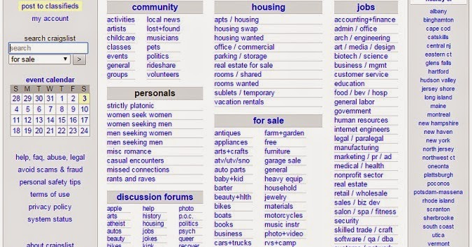 craigslist: boston personals, jobs, cars instead of craiglist boston