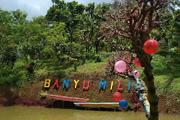 Spot Foto dan Harga Tiket Masuk Wisata Banyu Mili Wonosalam JOMBANG