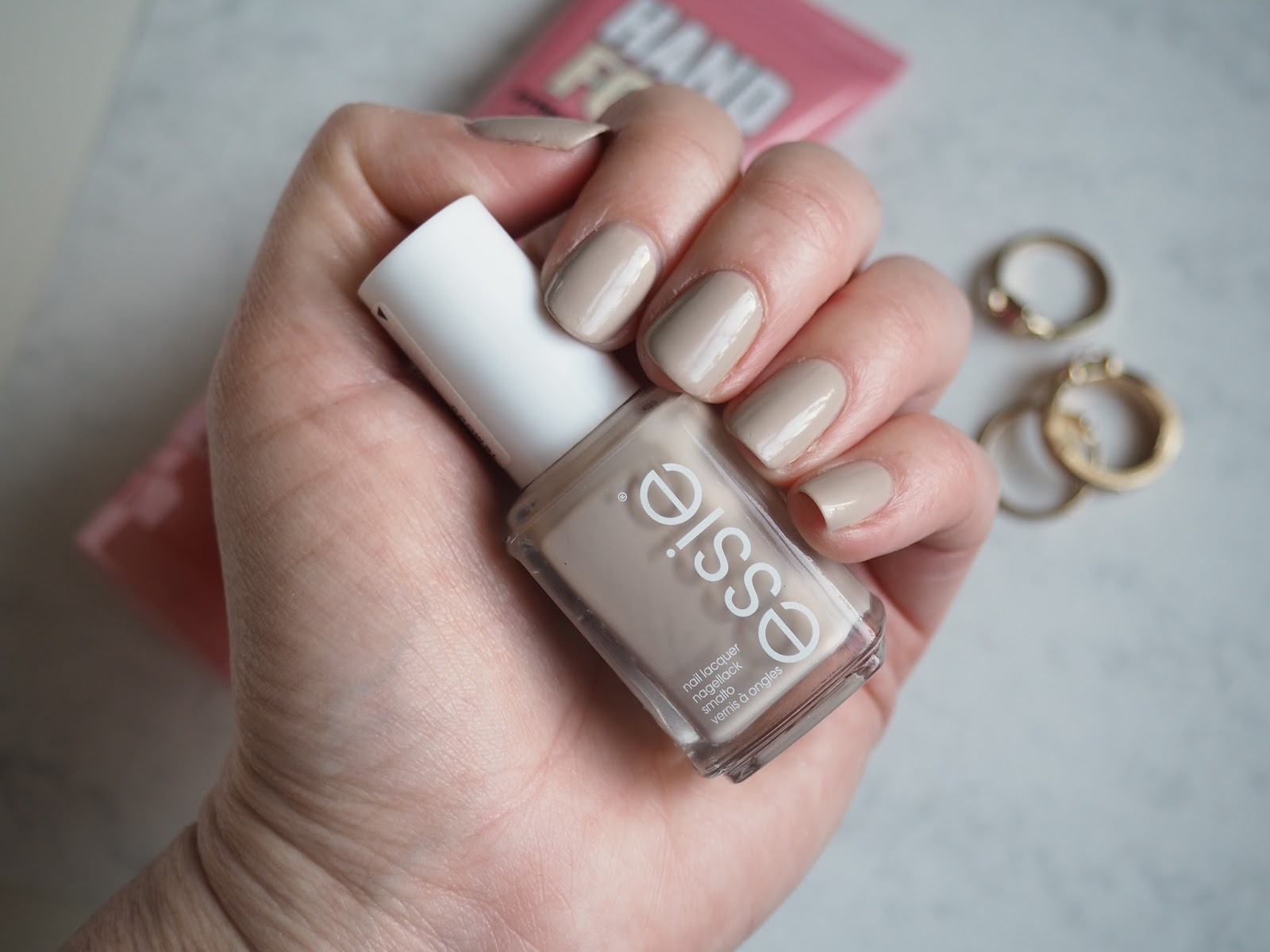 Essie nail polish sand tropez review