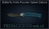 Butterfly Knife Russian Spleen Deluxe