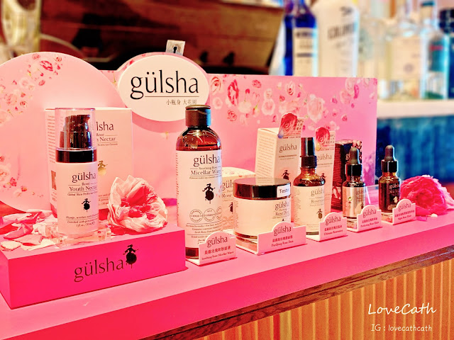 SHExgulsha, gulsha, 玫瑰精华霜, hightea, beauty, lovecath, catherine, 夏沫, Gulsha, SHE,