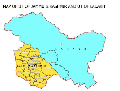 UTs of J&K, Ladakh