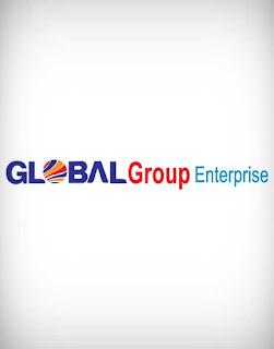global group enterprise vector logo, global, group, enterprise, vector, logo
