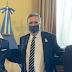 EN BUENOS AIRES, OESTMANN SE REUNIÓ CON EL MINISTRO DE CULTURA DE LA NACIÓN