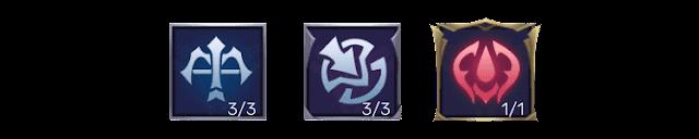 Emblem Yu Zhong Tersakit dan Terkuat