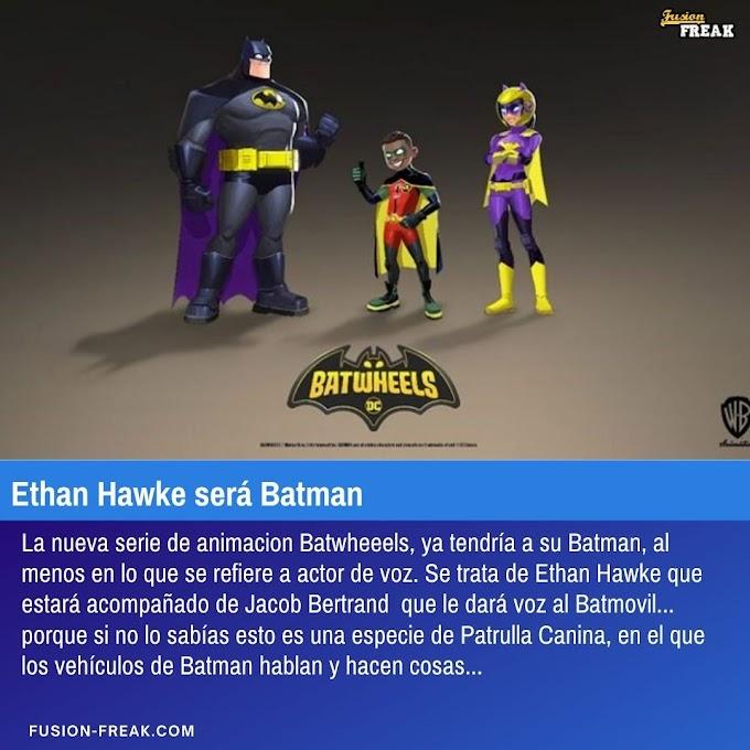 Ethan Hawke dará la voz a Batman