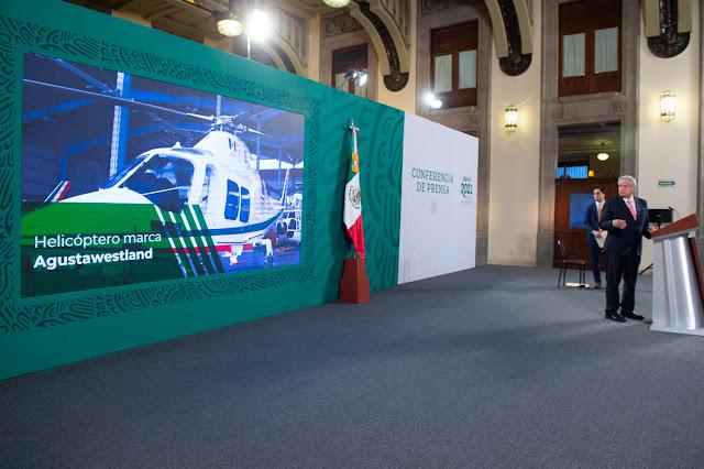 AMLO anuncia nueva subasta de 19 aeronaves del gobierno federal