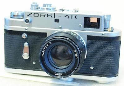 Zorki-4K, Jupiter 8 50mm F2, View
