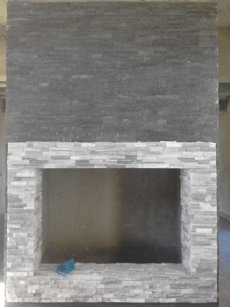 Enchapes de paredes con piedras o fachaletas