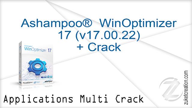 Ashampoo®  WinOptimizer 17 (v17.00.20) + Crack  |  19.6 MB
