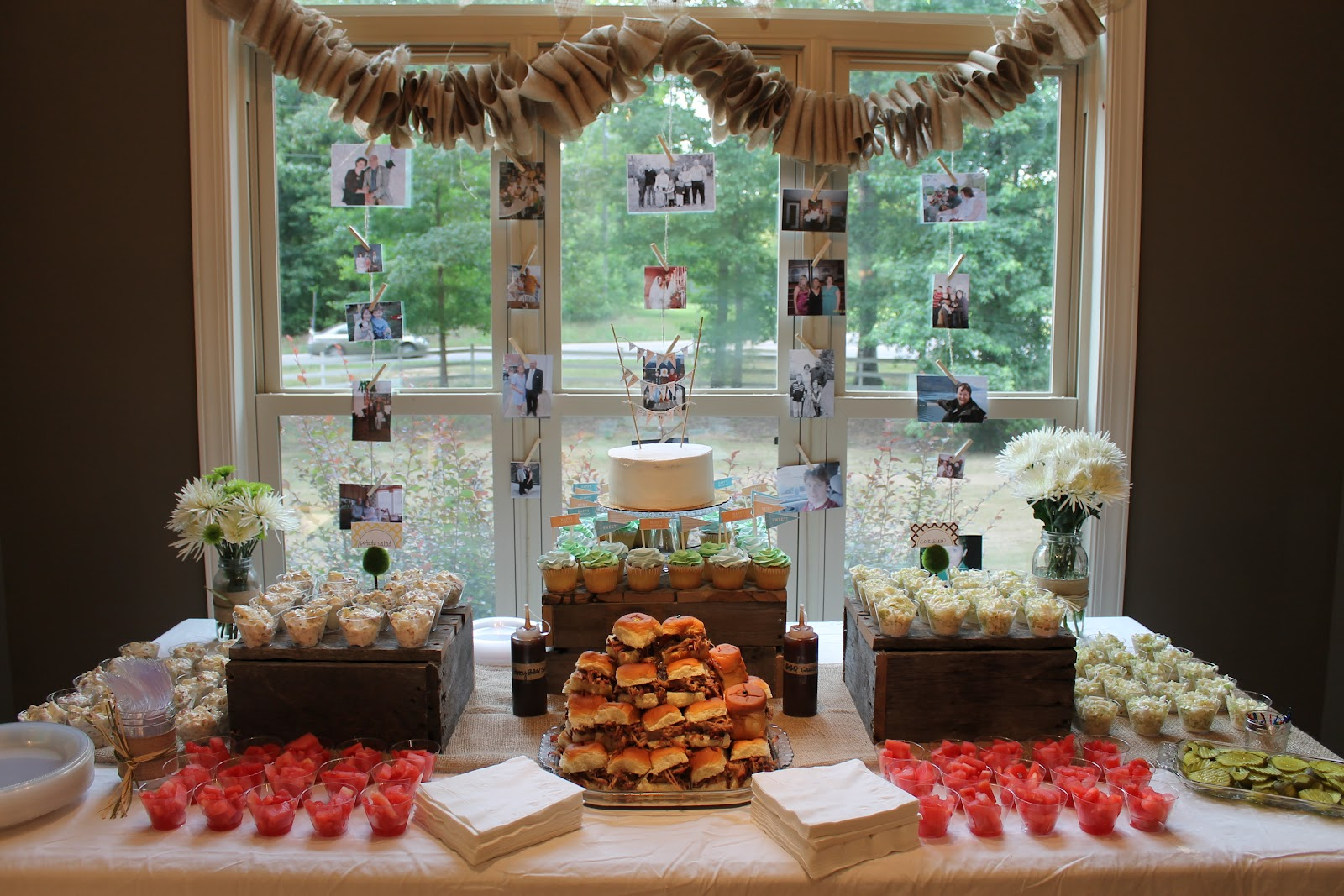 Barbeque And Burlap A Surprise 50th Birthday Party & 50th Birthday Decorating Ideas - Elitflat