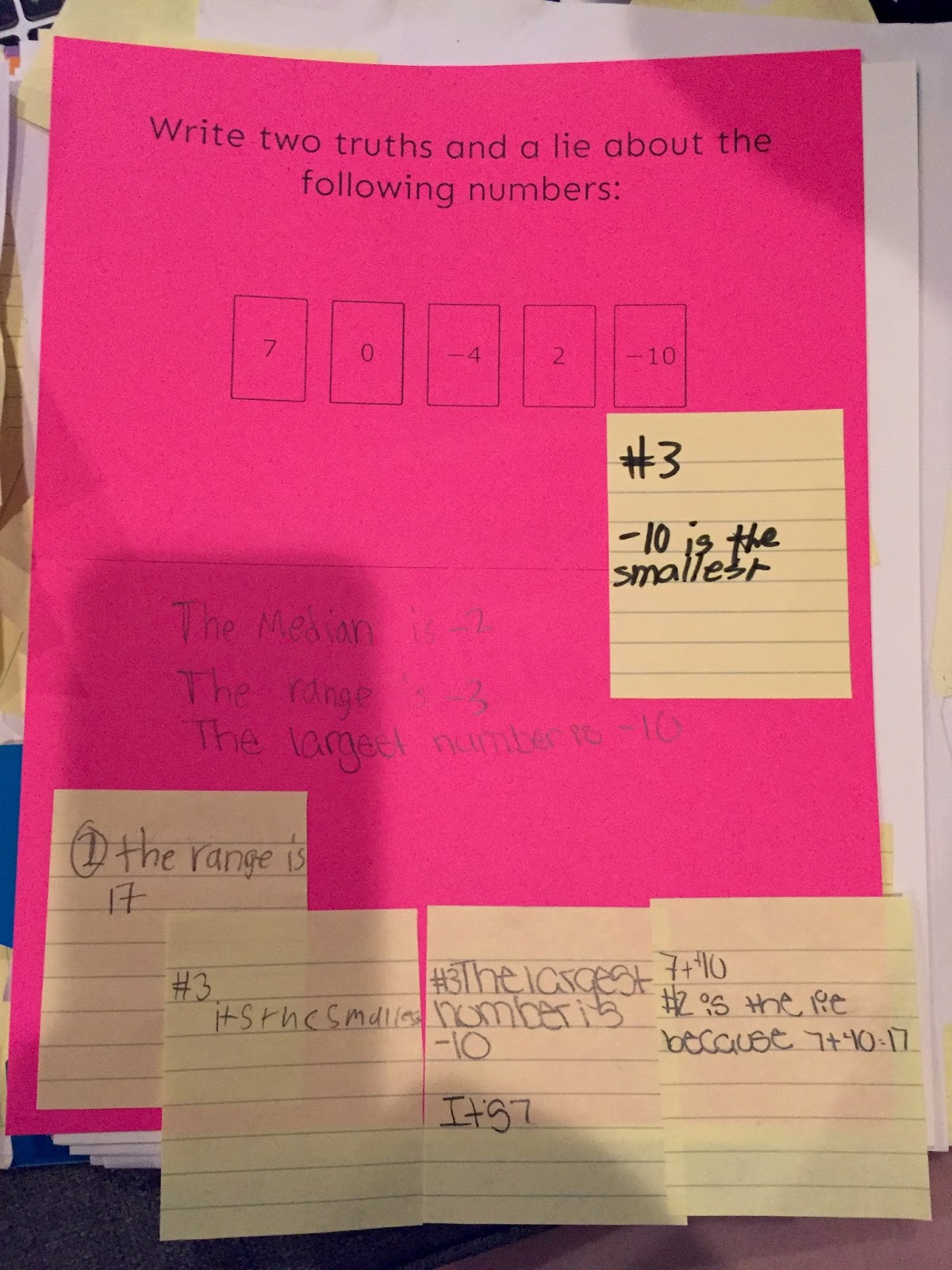 2 truths and a lie essay Two truths and a lie invite students to write on a slip of paper weekly tribes august 2016: 2 by 10 classroom management weekly tribes december 2016.