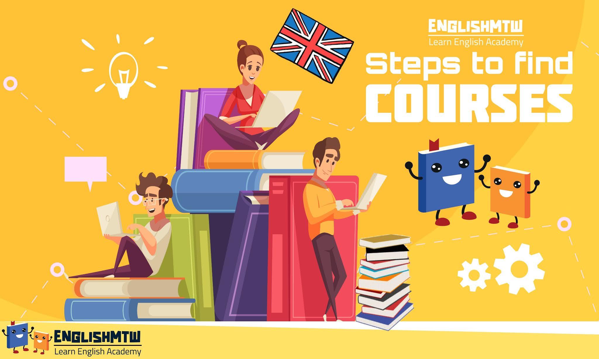 6 خطوات ذكية لإيجاد دورة مثالية في اللغة الإنجليزية للمستوى المتوسط