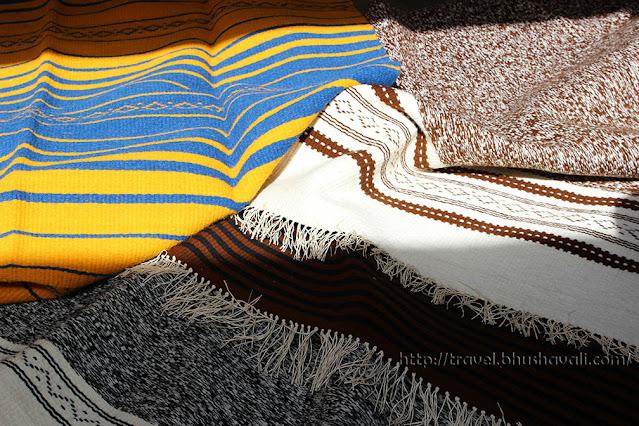 Hand woven rugs by Vankar community, Bhujodi