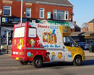 Ice cream van art