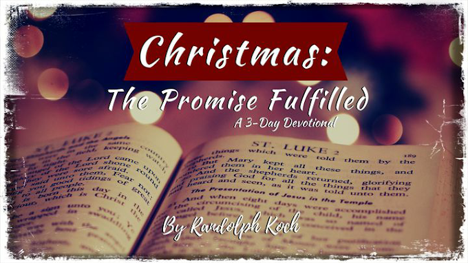 3 days of Devotional- Christmas is the promise fulfilled