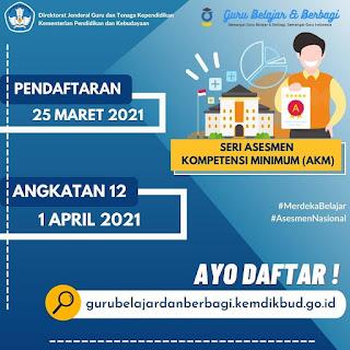 Seri Guru Belajar AKM Dibuka Kembali April 2021