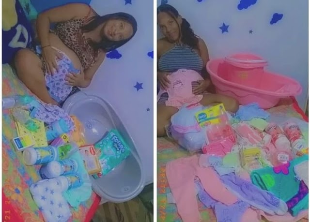 Base Comunitária doa enxovais para gestantes no Sudoeste da Bahia