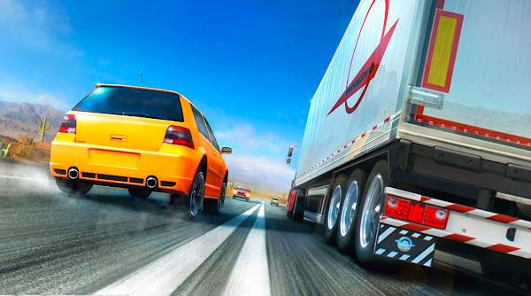 تحميل لعبة traffic racer للكمبيوتر