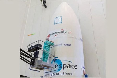 تابع عملية إطلاق أول قمر اصطناعي مغربي للمراقبة والتجسس