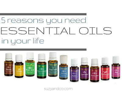 5 reasons you need essential oils in your life | suzyhomemaker.net