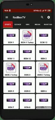 تحميل تطبيق RedBox TV لمشاهدة جميع قنوات العالم المشفرة مجانا على أجهزة الأندرويد