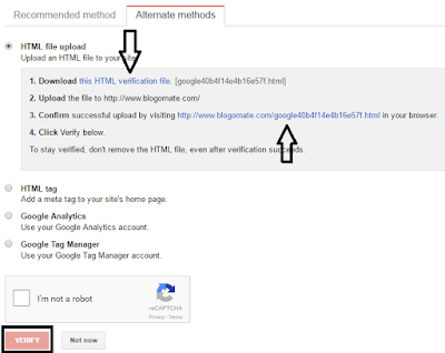 Add Website To Google Webmaster Tools 3