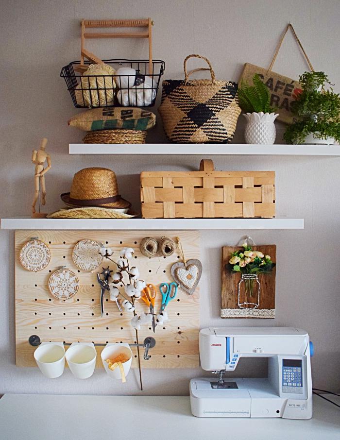 DIY - Jak zrobić tablicę Pegboard? Niezbędnik krawcowej