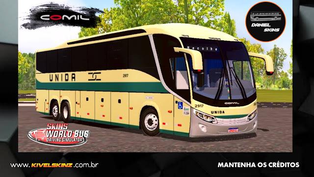 COMIL 1200 6X2 - VIAÇÃO UNIDA