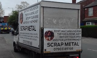 Scrap Metal van spotted in Cheadle Hulme