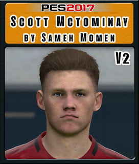 PES 2017 Faces Scott McTominay by Sameh Momen