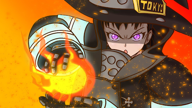 wallpaper maki fire force