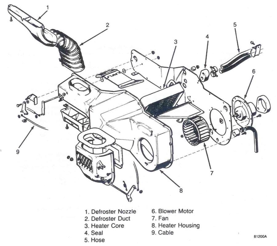 1986 jeep cj7 restoration jeep cj7 heater restoration  jeep cj7 heater