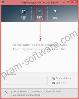 Membaca QR Code Dari Screen/Desktop