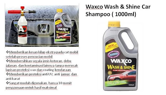 rekomendasi-shampo-sabun-cuci-motor-terbaik-termurah-Wax-Co-Wash-&-Shine