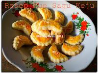 Resep Kue Sagu Keju ( Sagoo Cheese Cookies )