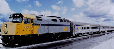 VIA Rail Canada Engine