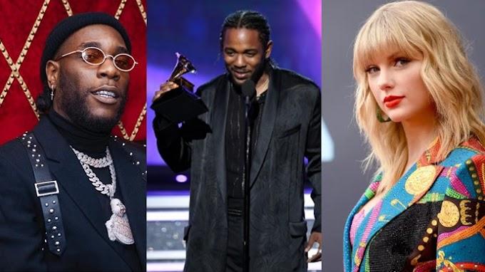 Burna Boy to perform alongside Kendrick Lamar and Taylor Swift at Glastonbury festival