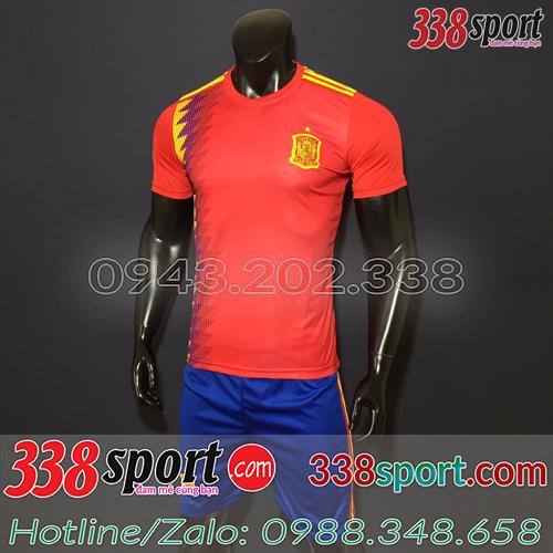 Áo bóng đá đội tuyển Tây Ban Nha 2019