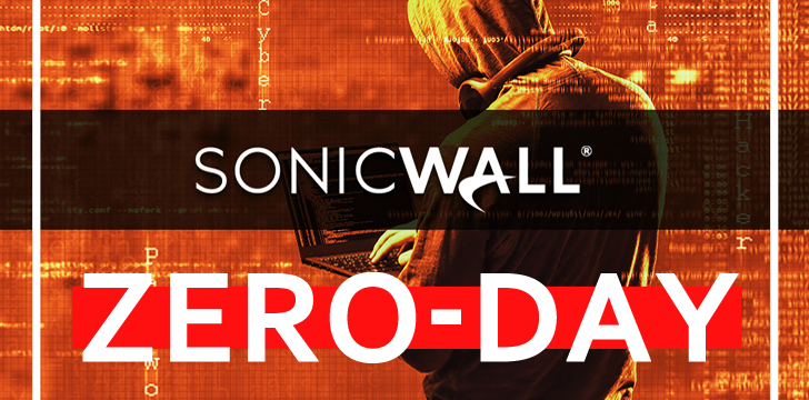 Hackers Abuses SonicWall Zero-day to Deploy New Ransomware
