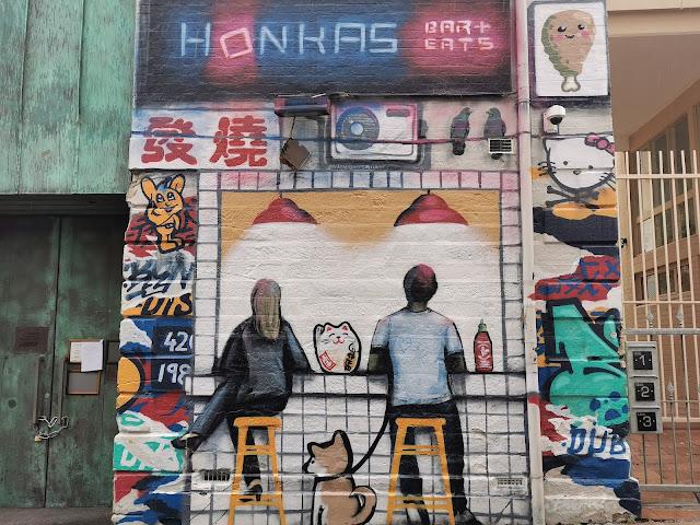 Potts Point Street Art