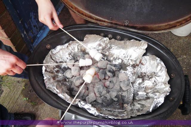 Roasted Marshmallows at The Purple Pumpkin Blog