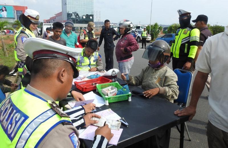 Polda Kepri Tilang 109 Kendaraan untuk Hari Pertama Operasi Zebra Seligi 2019