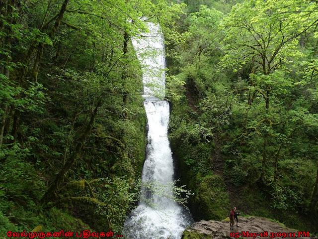 Bridal Veil Falls Columbia River Oregon